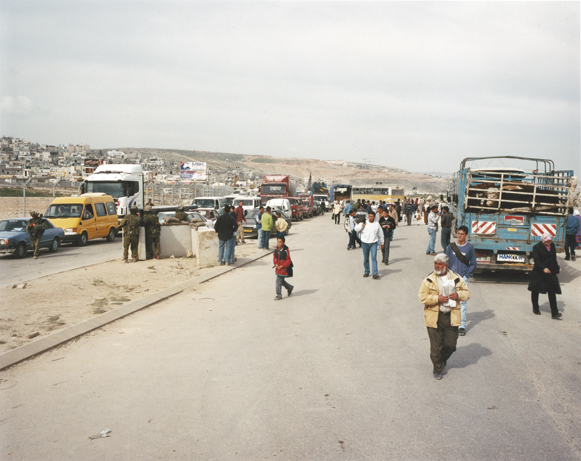 Peter Riedlinger, Qalandia Checkpoint/Refugee Camp, West Bank, P